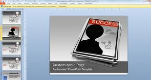 templates ppt animated free magazine template powerpoint k ts info