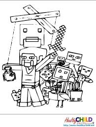 minecraft coloring pages 4430 bestofcoloring com