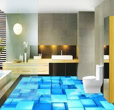 Water Under Bathroom Floor 3d Porcelain Tile Diy Character Design Pool Floor Tile Under Water