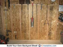 garden shed storage ideas backyard storage shed 6 steps