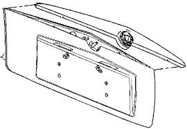2003 cadillac cts backup light cover ledfix com offers cadillac led high mounted third brake light