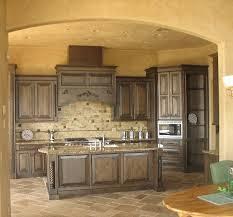 Tuscan Style Kitchen Cabinets Tuscan Style Kitchen Tuscany Style Ivory Kitchen With Large