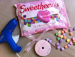 sweetheart candy diy sweetheart candy garland