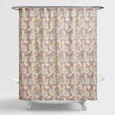 Shower Curtains by Multicolor Floral Corinne Shower Curtain World Market