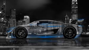 koenigsegg car blue 4k koenigsegg regera side crystal city car 2015 el tony