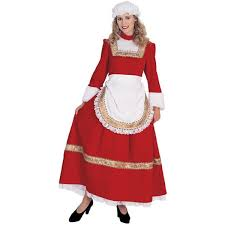 mrs claus costume womens santa christmas fancy dress