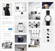 theme ideas for instagram tumblr vegas modern grid tumblr theme