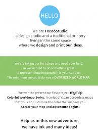 Borderless World Map by Mymap The Adventure Begins Indiegogo