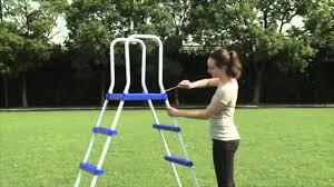 pools cozy intex pool ladder for inflatable kiddie pool design