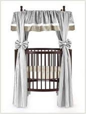 round crib bedding ebay
