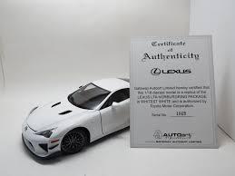 lexus lfa retail price lexus lfa nurburgring package whitest white autoart toyota