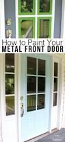 front door ergonomic metal front door for home design metal