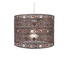 Morrocan Chandelier Antique Bronze Gem Moroccan Style Chandelier Ceiling Light Shade