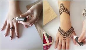 henna tattoo selber machen leicht 1000 geometric tattoos ideas
