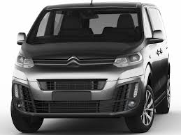 new citroen dispatch 3d citroen spacetourer 2016 cgtrader