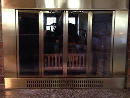 Cleaning Glass On Fireplace Doors by Fireplace Hometalk