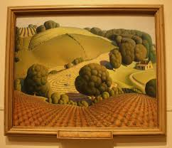 the cedar rapids museum of art houses the largest collection of grant wood s work although not all of it is on display the museum is not large