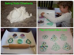 baking soda ornaments for via play at home they used