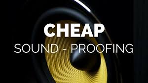 cheap soundproofing tips youtube