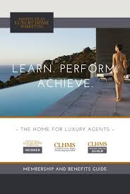 stunning certified luxury home marketing specialist designation