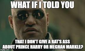 Rats Ass Meme - what if i told you that i don t give a rat s ass about prince