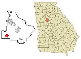 Zip Code Map Georgia by Hampton Georgia Wikipedia