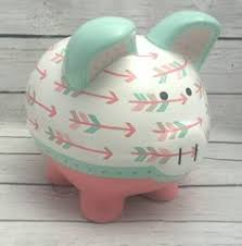 monogrammed piggy bank travel fund piggy bank from project seasonal diy