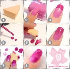 how to make ombre nails without makeup sponge mugeek vidalondon