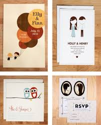 fun quirky wedding invitation wording matik for