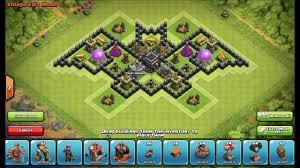 layout design th7 th7 batman base defense town hall 7 base setup layout clash of