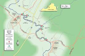 Virginia Mountains Map by Destination Virginia U2014 Strolling The Chessie Nature Trail Trailblog