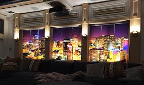 wall murals fluorescent gallery a wall mural image used in a home theatre