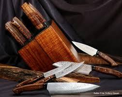handcrafted kitchen knives custom japanese chef knife sets in blocks stands or racks salter