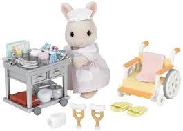 sylvanian families country nurse set jac in a box