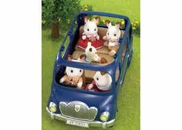 Sylvanian Families Garden Sylvanian Families Bluebell 7 Seater Car