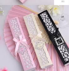 Cheap Wedding Programs To Brazil Personalized Silk Folding Hand Fans For Wedding Bridal