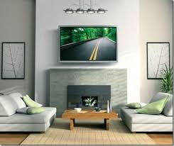 Corner Gas Fireplace With Tv Above by Tv Above Fireplace Design Ideas Fireplace Winsome Modern Tv