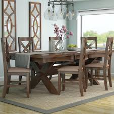 7 pc dining room set laurel foundry modern farmhouse isabell 7 dining set