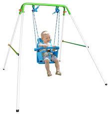 baby swing swing set toddler kids baby swing set indoor outdoor backyard swingset