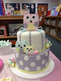 owl themed baby shower ideas owl themed baby shower cakes cakes ideas