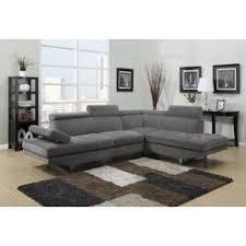 Gray Leather Sectional Sofa Sofas U0026 Loveseats Leather Sears