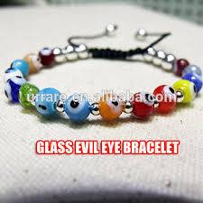 evil eye beads bracelet images Turkish greek glass evil eye beads silver beads mixed macrame jpg