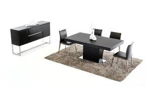 Daytona Modern Dark Grey Eco Durham Modern Wenge Extendable Dining Table