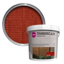 colours timbercare red cedar shed u0026 fence stain 9l departments