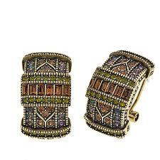 earrings everyday heidi daus everyday elegance hoop earrings 8525524 hsn