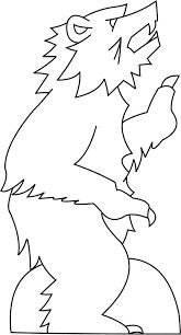 polar bear template virtren com