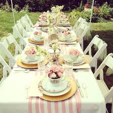 high tea kitchen tea ideas tea table setting table setting for tea ideas about