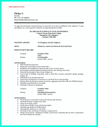 cfo sample resume format of good resume good