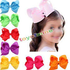 big hair bows girl babies hair bows ebay