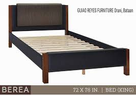 Bed Frame Only Bed Frame Only 72x78 King Size Sale Guiao Reyes Furniture